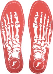Footprint Kingfoam Flat 5mm Insoles - skeleton red