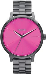 Nixon Kensington Watch - gunmetal/pink