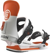 Union Contact Snowboard Bindings 2016 - white/orange