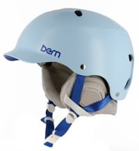 Bern Lenox EPS Boa Women's Snowboard Helmet - satin light blue