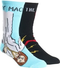 Toy Machine Bury The Hatchet Sock - multi