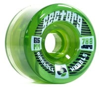 Sector 9 65mm Top Shelf Longboard Wheels - green (78a)