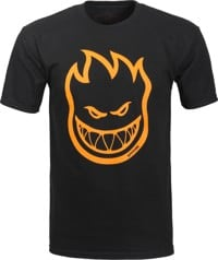 Spitfire Bighead T-Shirt - black/orange print