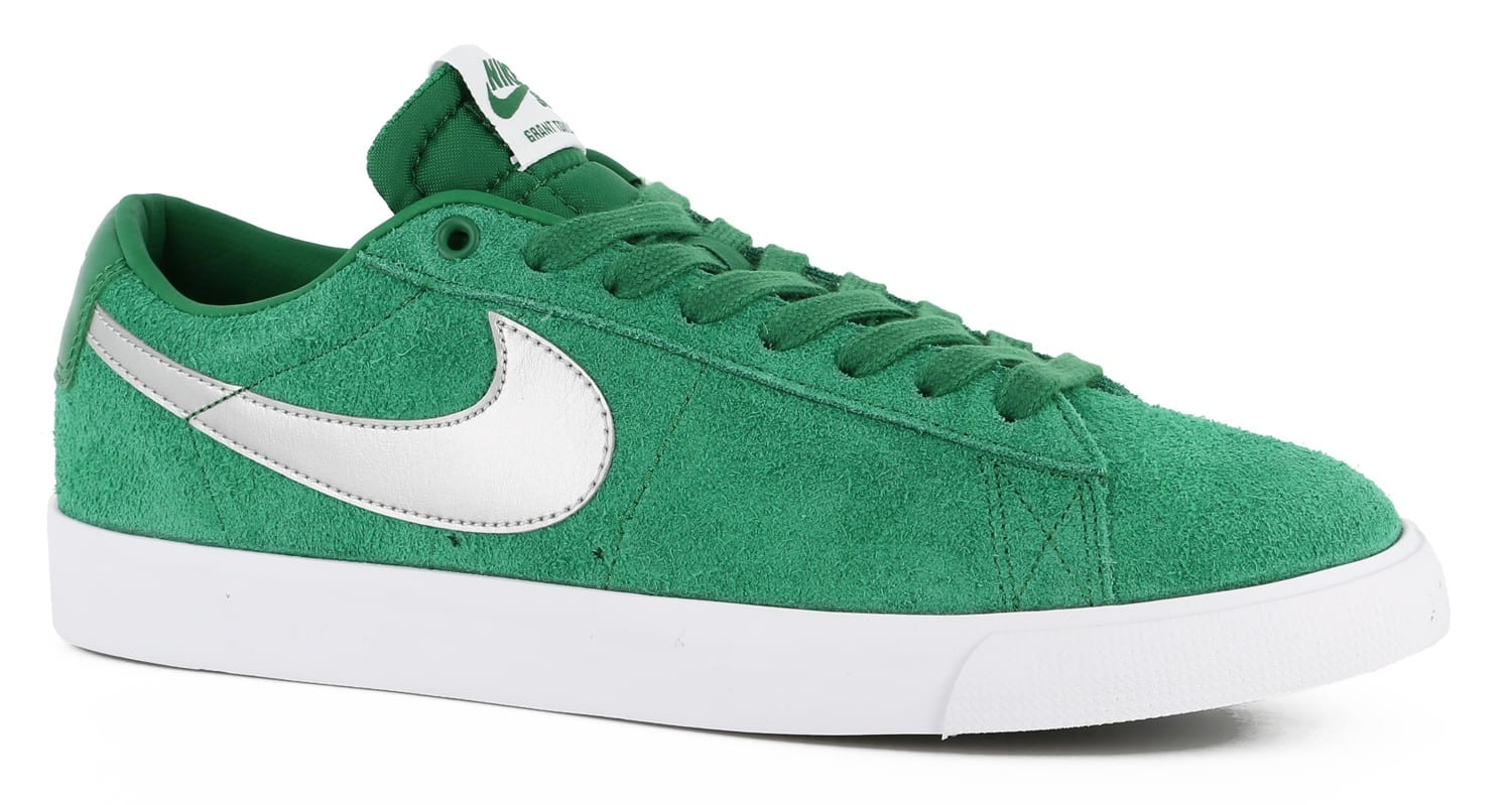 nike blazer low green