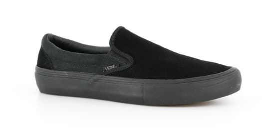 vans slip on blackout