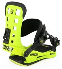 Union ST Snowboard Bindings 2016 - acid green