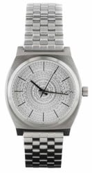 Nixon Time Teller Watch - all silver/stamped