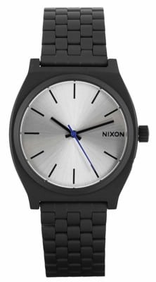 Nixon Time Teller Watch - black/silver - view large