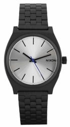 Nixon Time Teller Watch - black/silver