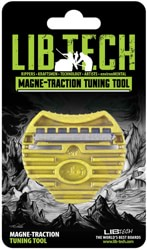 Lib Tech Magne-Traction Edge Tuning Tool - yellow