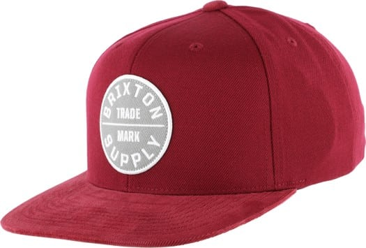 Brixton Oath III Snapback Hat - view large