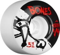 Bones STF V4 Skateboard Wheels - white (83b)