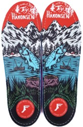 Footprint Game Changers Custom Orthotics Insole - terje salmon