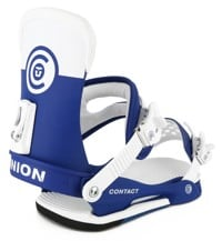 Union Contact Snowboard Bindings 2016 - blue/white