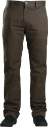 Volcom Frickin Modern Stretch Chino Pants - soil