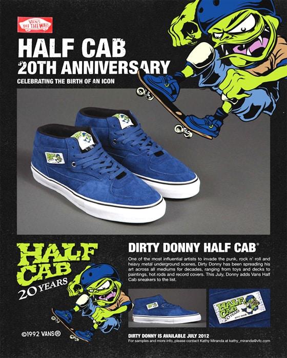 vans 20th anniversary half cab k5