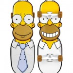 "Santa Cruz The Simpsons Homer Cruzer 31.7"" Skate Complete"