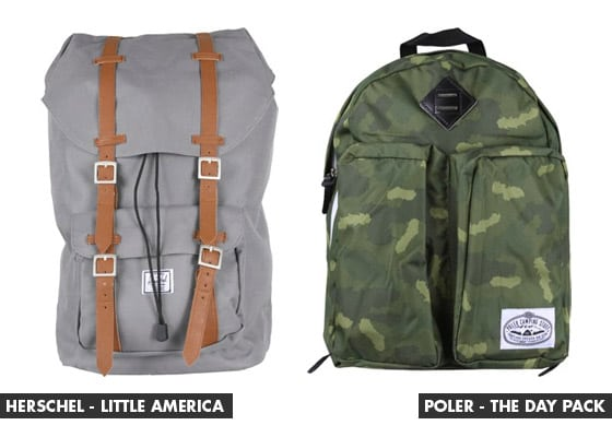 Backpacks at Tactics