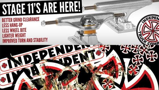 Independent Stage 11 Skateboard Trucks
