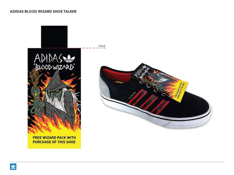 Adidas X Blood Wizard Shoes