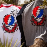 The Hundreds X Grateful Dead Collection Steal Your Face Baseball T