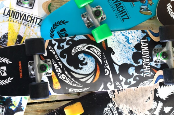 New 2013 Landyachtz Boards Now Available