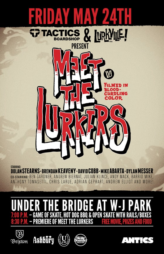 Meet The Lurkers Video Premiere