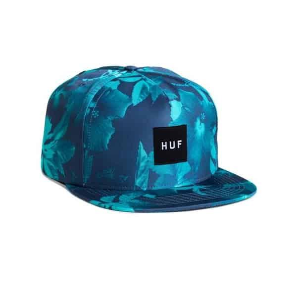 Huf Snapback Floral Huf Floral Snap Back Hat