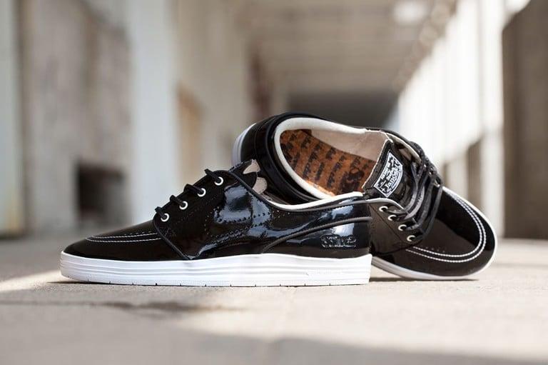 Nike SB Stefan Janoski Lunar 8Five2 Sneakers (Black/Black)
