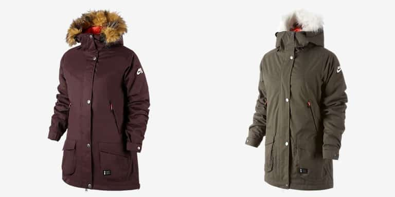 2015 Nike Snowboarding Women s Jackets Now Available  0bd08d1bc