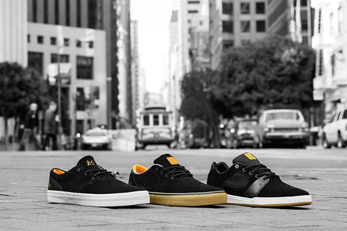 64152c4d93 eS Skateboarding Black Orange Collection