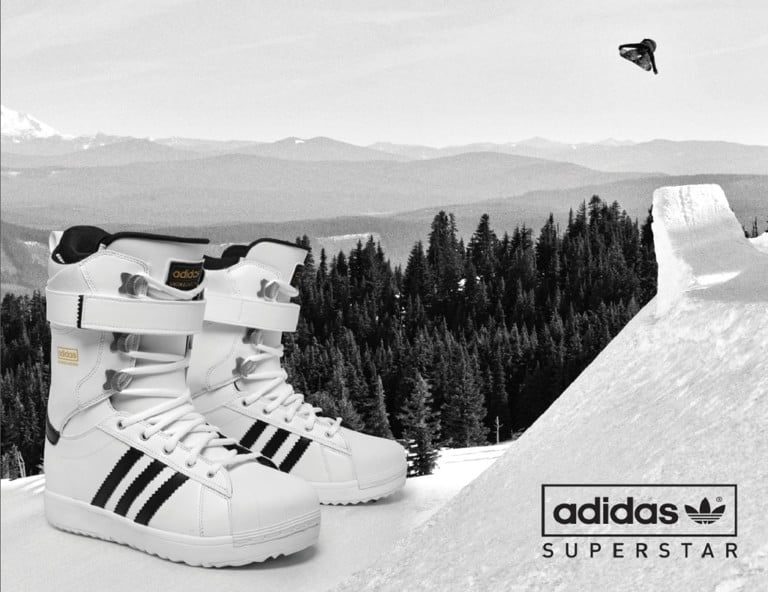 2016 Adidas Superstar Snowboard Boots Tactics