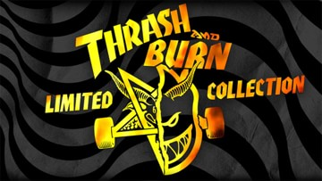 "Spitfire x Thrasher ""Thrash and Burn"" Collection Now Available"
