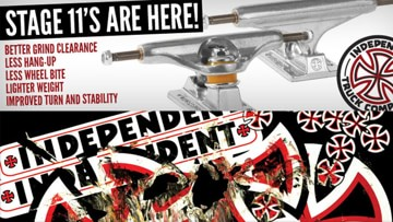 Independent Stage 11 Trucks Now Available