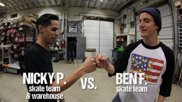 Game of S.K.A.T.E. Semifinal - Ben vs Nick