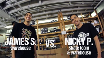 Game of S.K.A.T.E. Final - Nick vs James