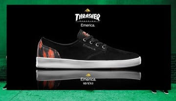 New Emerica X Thrasher Mag Skate Shoes Now Available