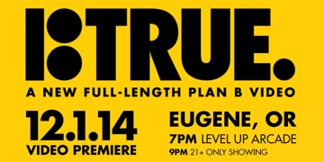 Plan B TRUE and It's About Time! Premiere at Level Up Arcade