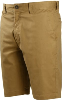 Volcom Frickin Modern Stretch Shorts - dark khaki - view large