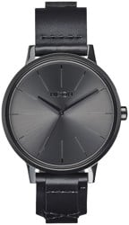 Nixon Kensington Leather Watch - black/bridle