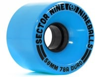 Sector 9 58mm Nineballs Longboard Wheels - blue (78a)