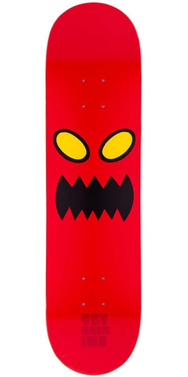 Monster Trucks For Sale >> Toy Machine Monster Face 8.0 Skateboard Deck - Free Shipping | Tactics
