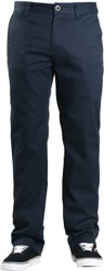 Volcom Frickin Modern Stretch Chino Pants - navy