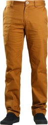 Volcom Frickin Modern Stretch Chino Pants - rust