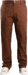 RVCA Week-End Stretch Pants - cocoa