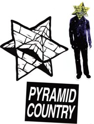 Pyramid Country Sticker Pack