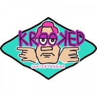 Krooked Arketype Sticker - teal