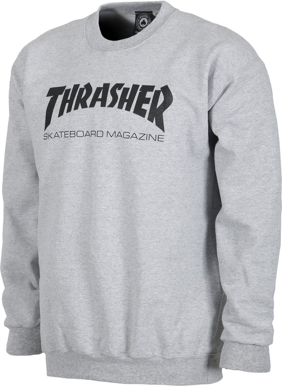 thrasher sweatshirt thrasher skate mag crewneck black. Black Bedroom Furniture Sets. Home Design Ideas