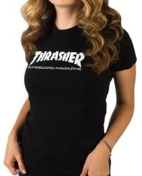 Thrasher Women's Skate Mag T-Shirt - black