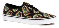 Vans Authentic Skate Shoes - (late night) black/hamburgers